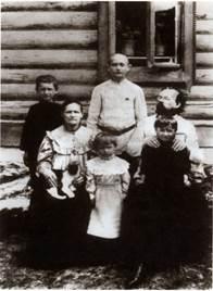 Семья Циолковских. 1902 г